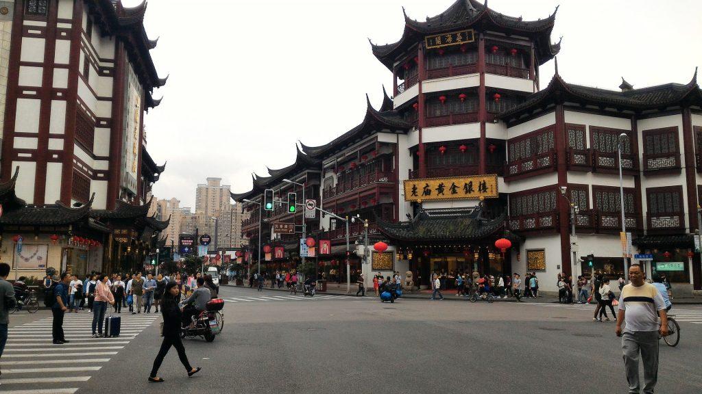 Marché de Shanghai